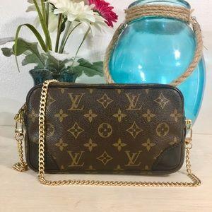 Louis Vuitton Marly Dragonne PM Shoulder Bag 💼